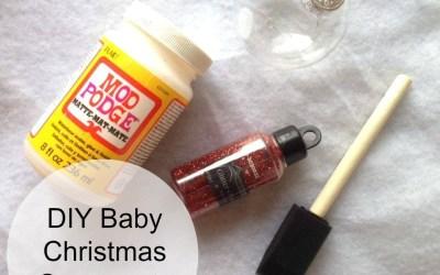 Pinterest Fail:  DIY Baby Christmas Ornaments