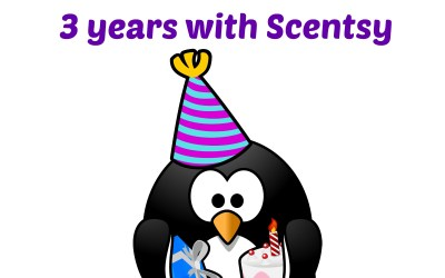 Happy Scentsyversary To Me: 3 years with Scentsy