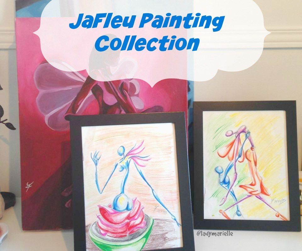 My JaFleu painting collection