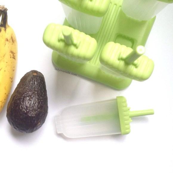Three Easy Homemade Popsicles Recipes: Avocado and banana