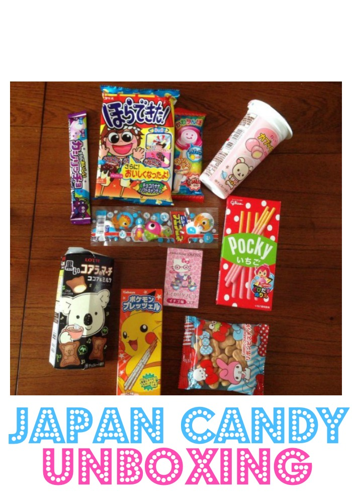 Hilarious video of Japan Candy Unboxing