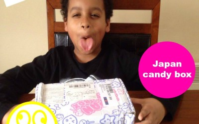 Japan Candy Unboxing With The Little Man