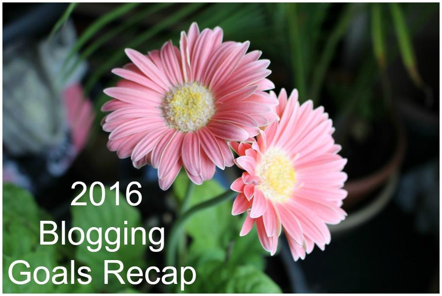 My Ah-mazing 2016 Blogging Goals Recap