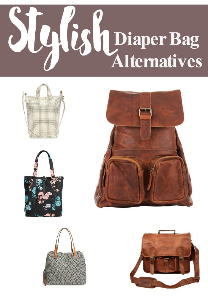Stylish Diaper Bag Alternatives