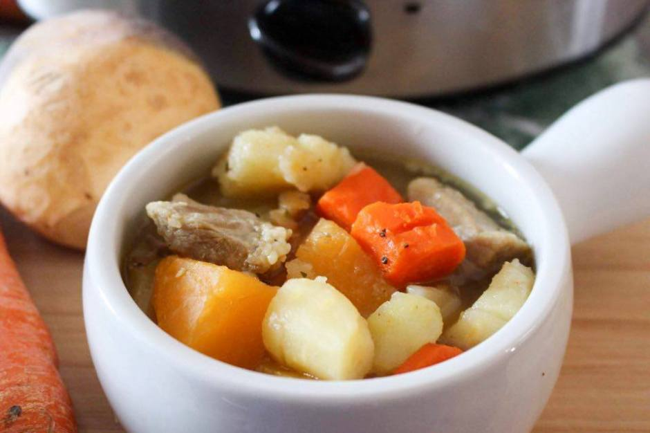 Flavorful Pork and Parsnip Stew Recipe