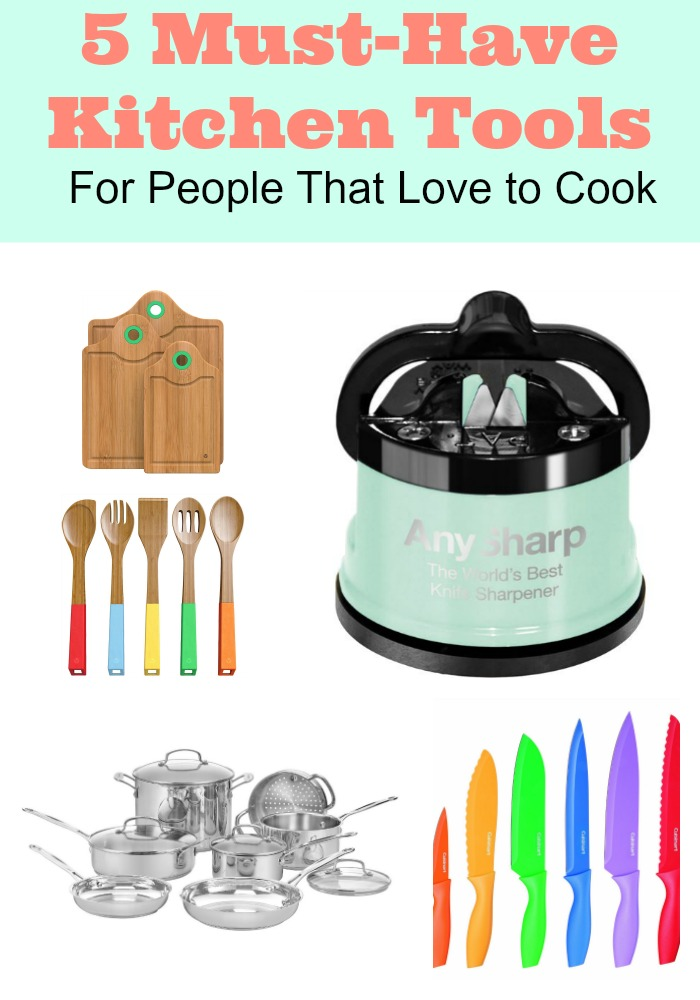 5 Must-Have Kitchen Tools For People That Love to Cook+ Giveaway