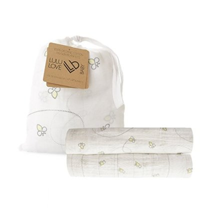 Hospital Bag Essentials For Baby + Lulu Love Baby Swaddle Blankets Giveaway