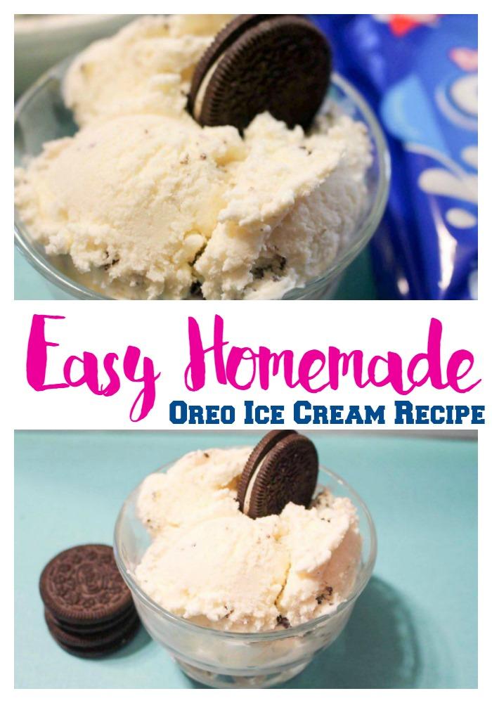 Easy Homemade Oreo Ice Cream Recipe