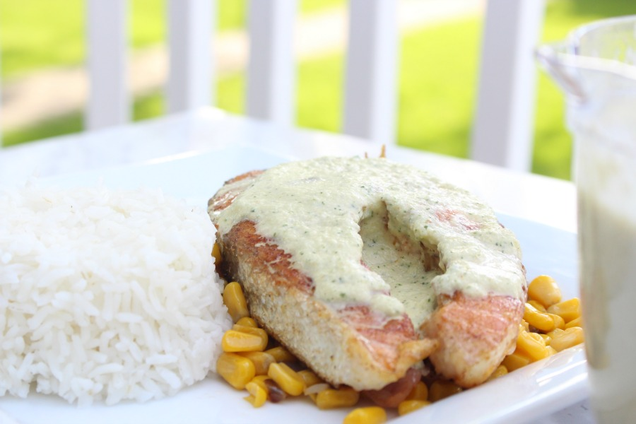 Tangy Cucumber Sauce Recipe – Perfect For Grilled Salmon