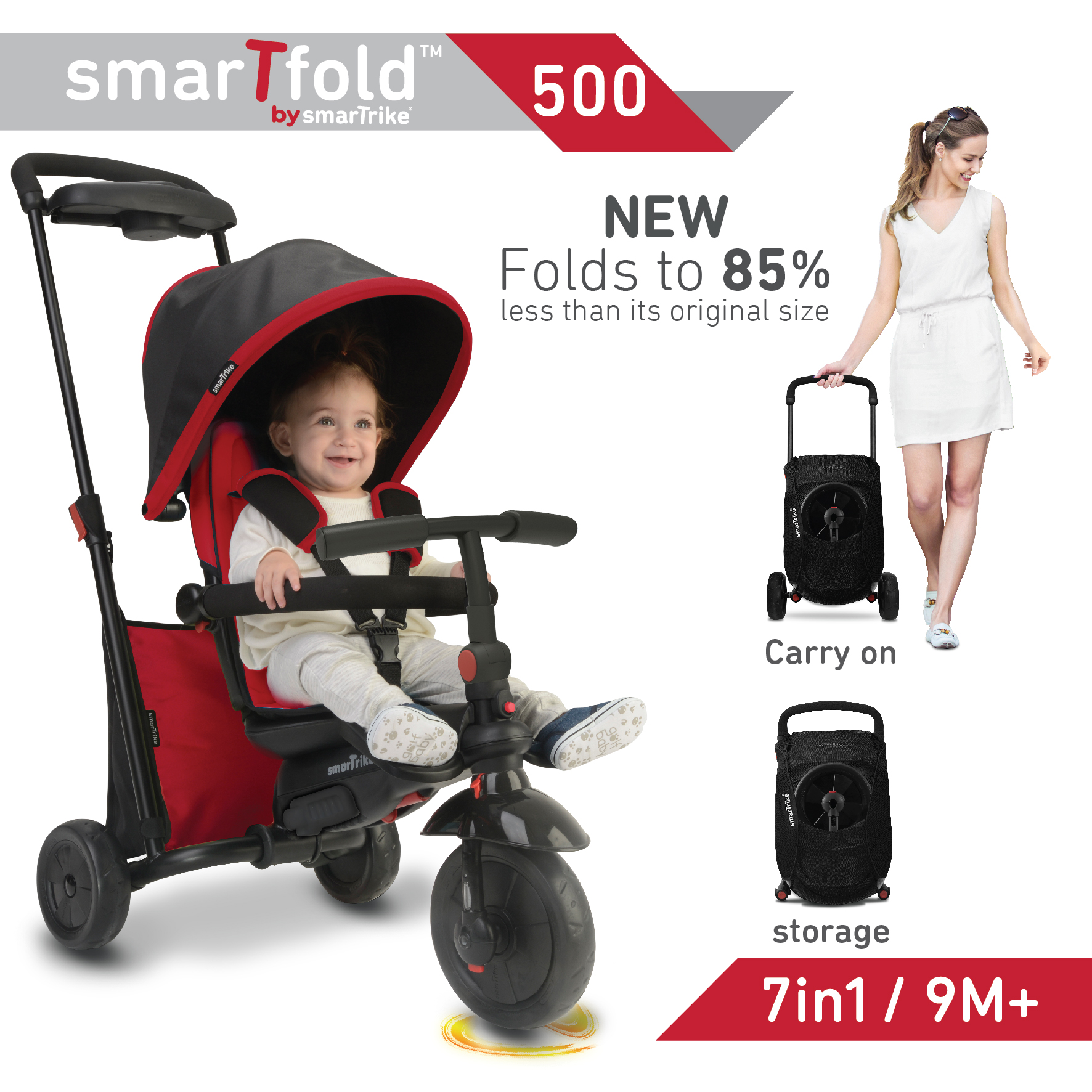 Toddler Approved: Outdoor Activities & smarTfold™ trike Giveaway