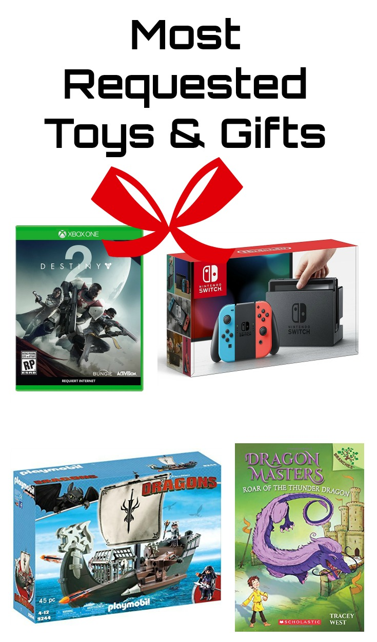 Most Requested Toys & Gifts This Year