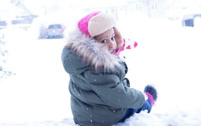 Winter Blues + Sick Toddler