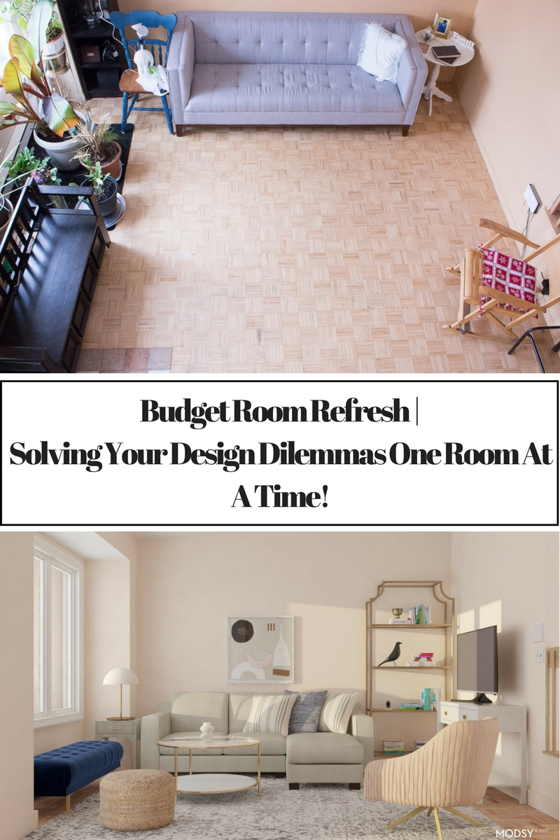 Budget Room Refresh | Solving Your Design Dilemmas One Room At A Time!