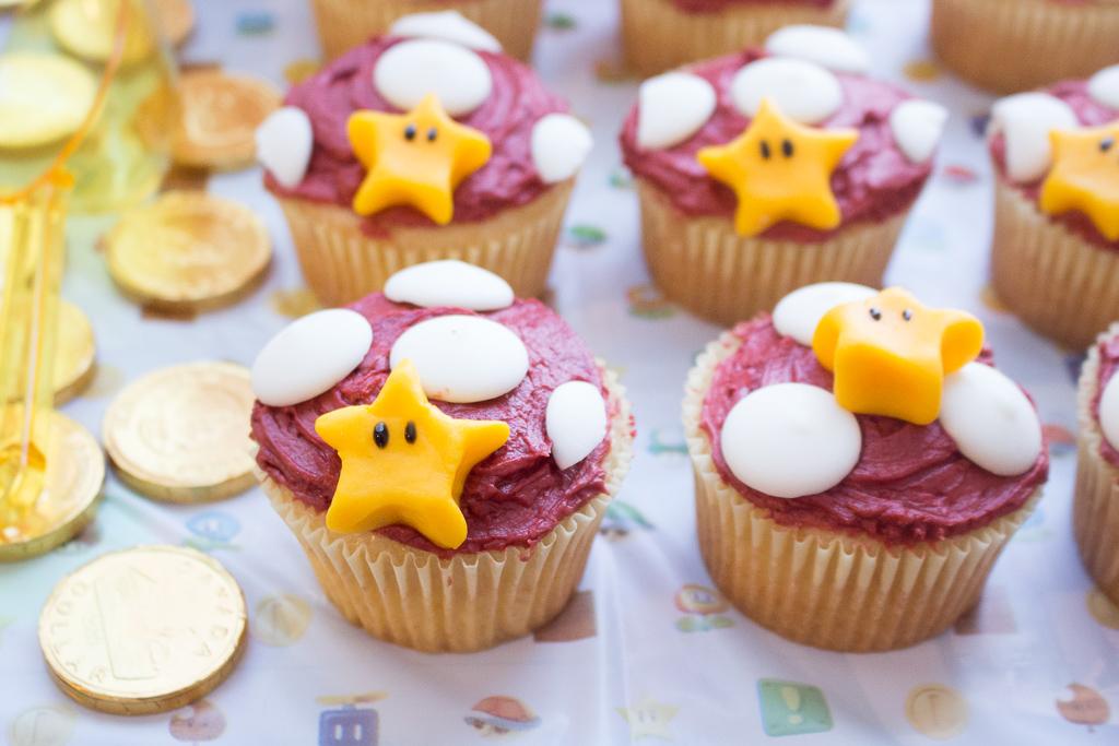 Epic Super Mario Cupcakes | Let The Games Begin!