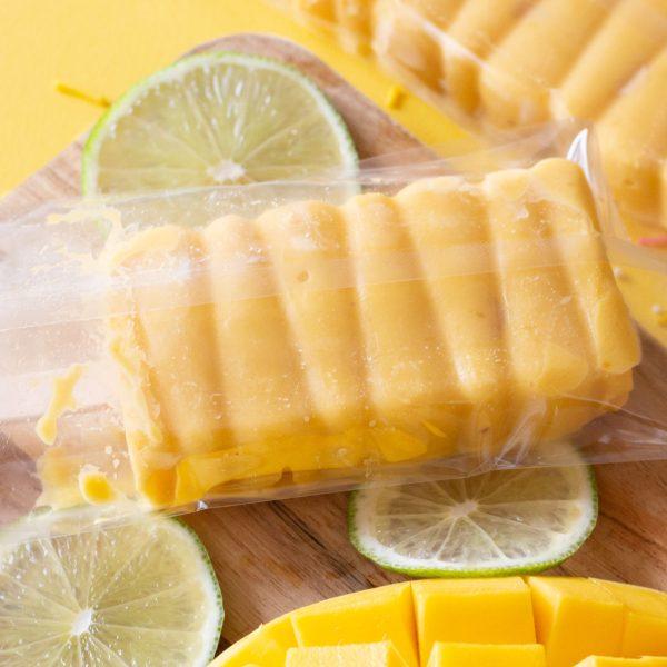 Refreshing Popsicle Recipe | Mango Lime Sorbet