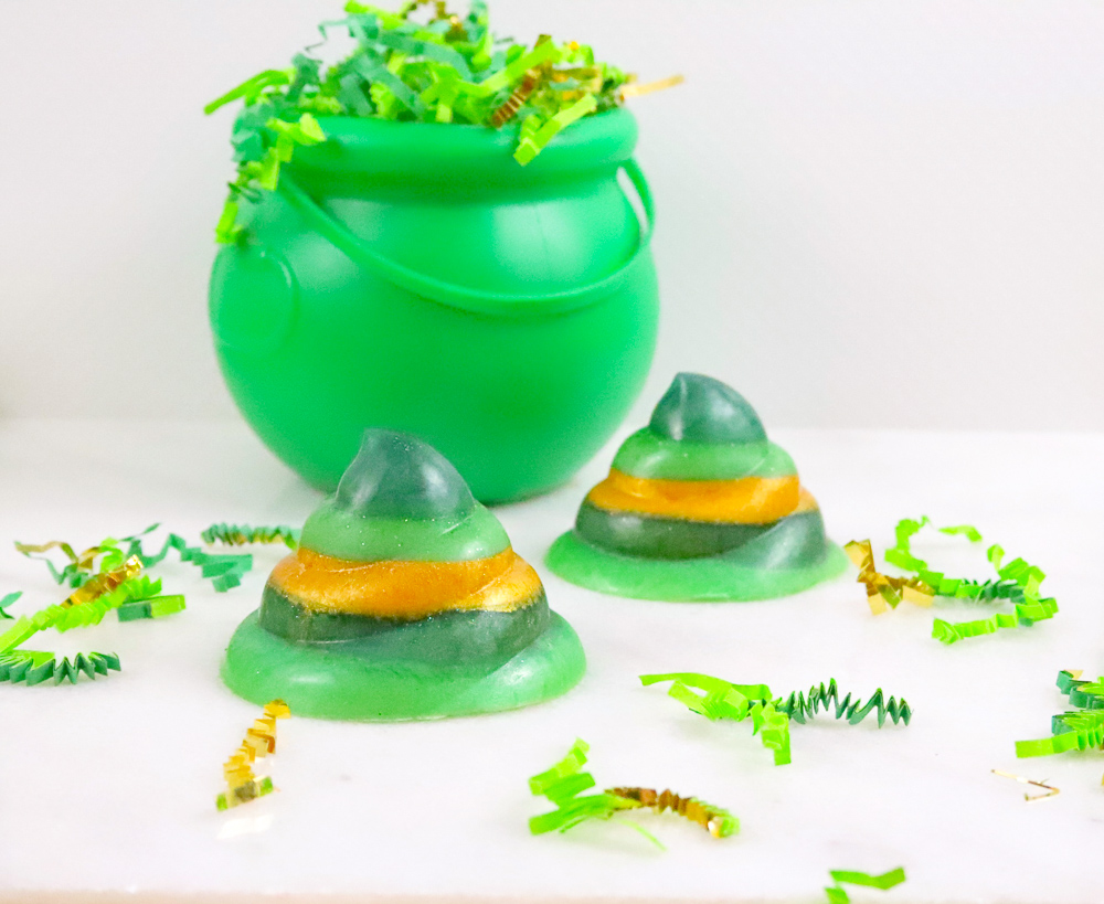 Leprechaun Poop Soap