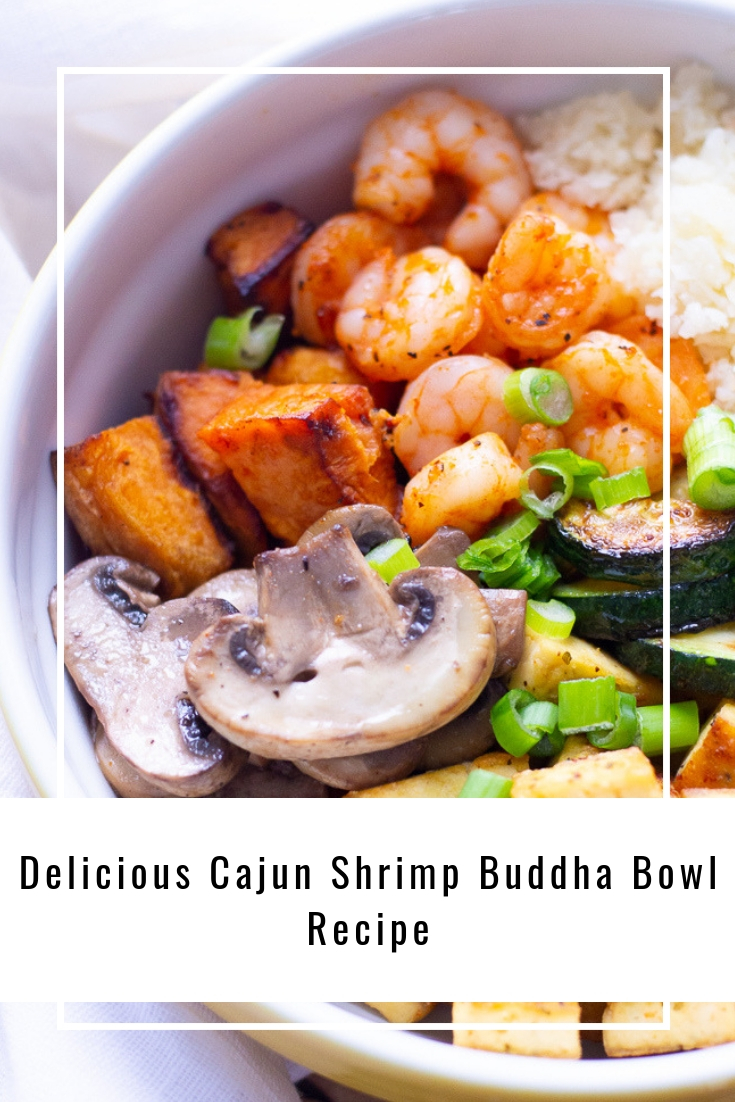 Delicious Cajun Shrimp Buddha Bowl Recipe