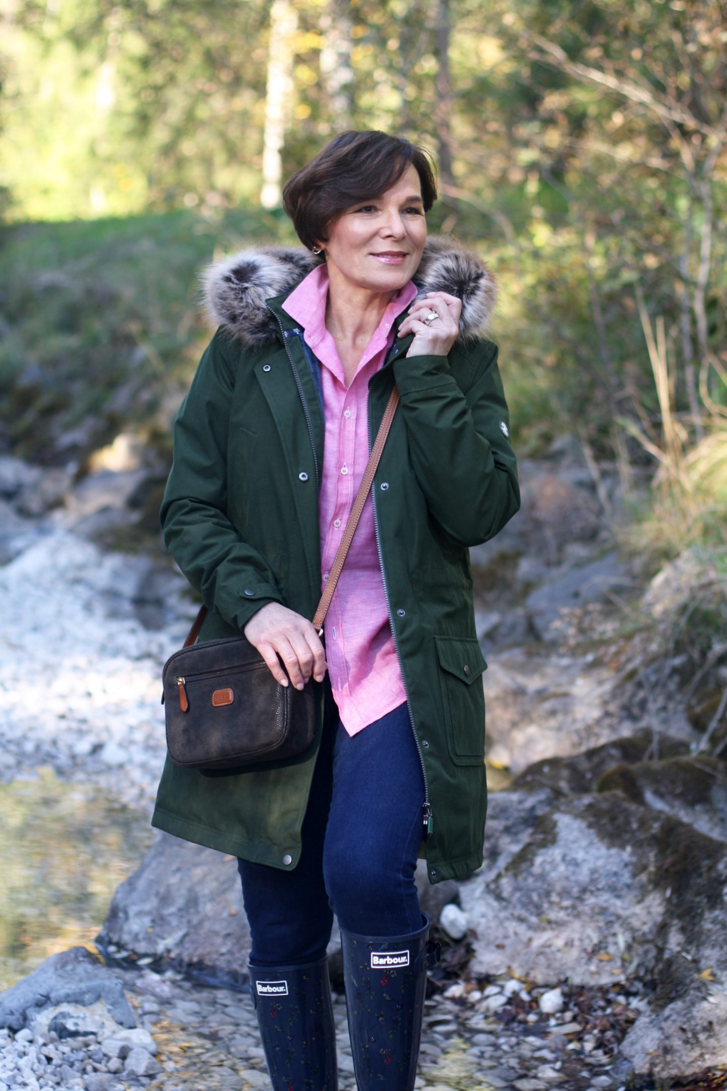 British Shop Barbour Outdoors Parka Gummistiefel Herbstmode 50plus Blogger LadyofStyle