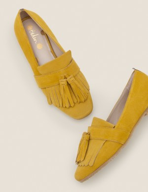Velourleder Slippers von Boden