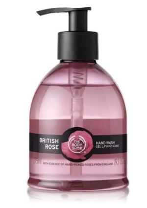 The Body Shop British Rose Hand Wash