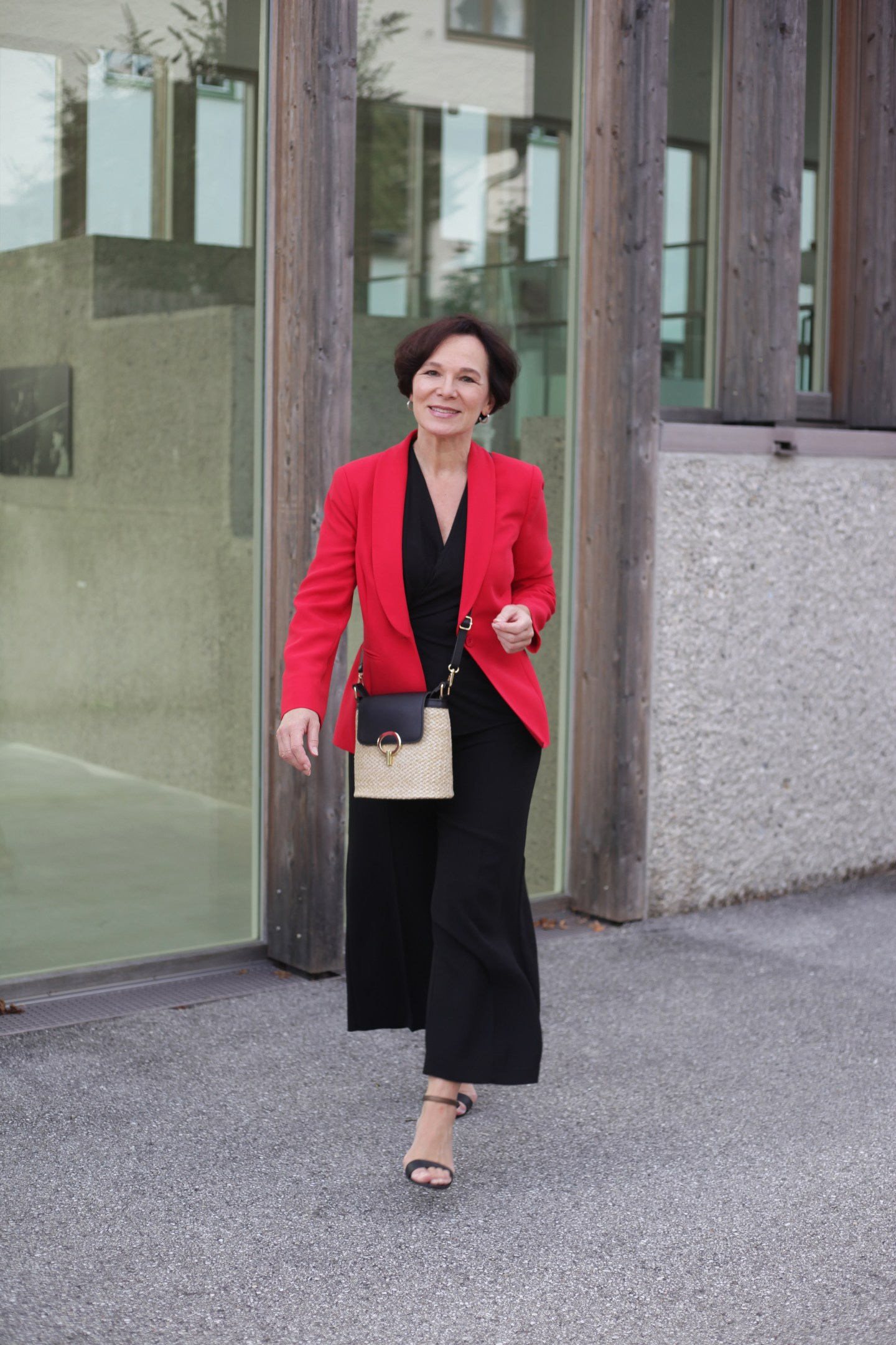 LadyofStyle Businesslook Officelook Blazer Culottes 50plus Blogger