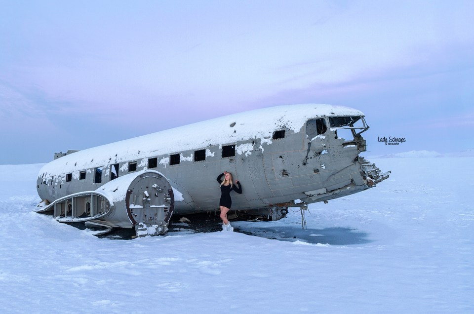 US Navy DC-3 Wreckage (IS)