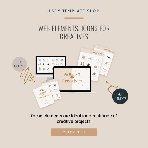 Web Elements For Creatives