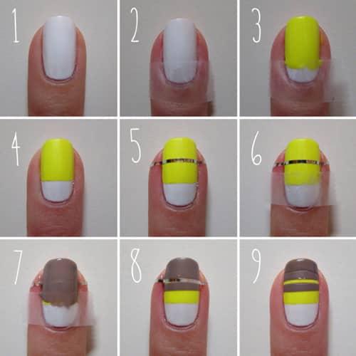 Manicure Idea - 9 passos