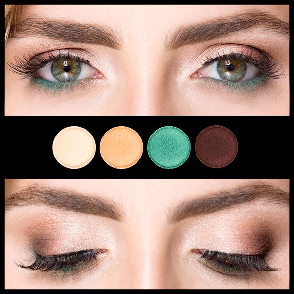 Palet mata hijau
