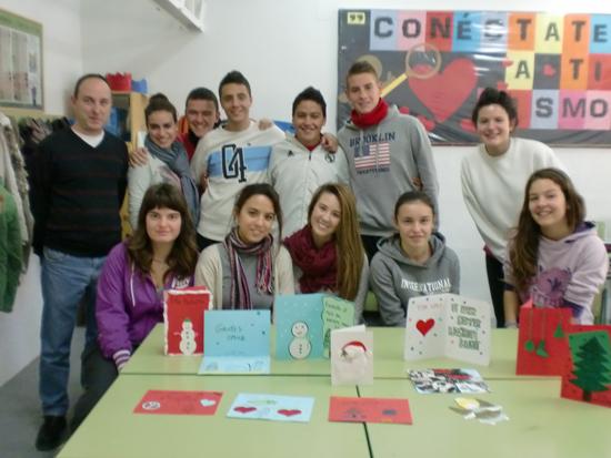 Los alumnos de 4º de ESO nos felicitan la Navidad en latín