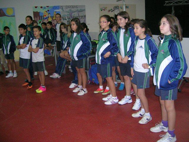 AMIF con los alumnos de 6º de Primaria