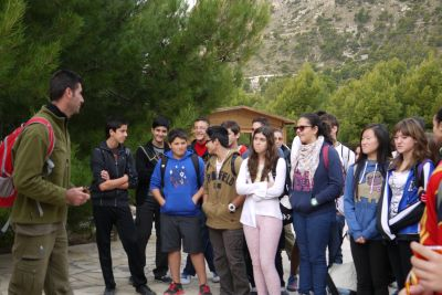 "Alumnos de 3º de ESO visitan el ""Xorret de Catí""."