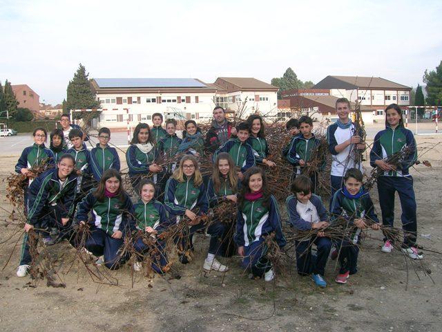 Preparamos la hoguera de San Antón