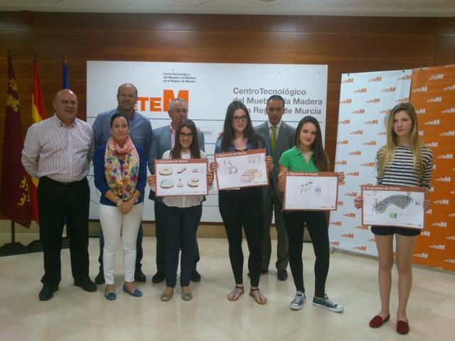 Alumna de 2º de ESO premiada en las X Olimpiadas de Diseño de Mobiliaro
