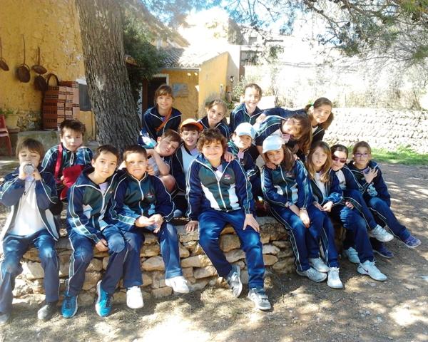 Los alumnos de 3º de primaria visitan una granja escuela