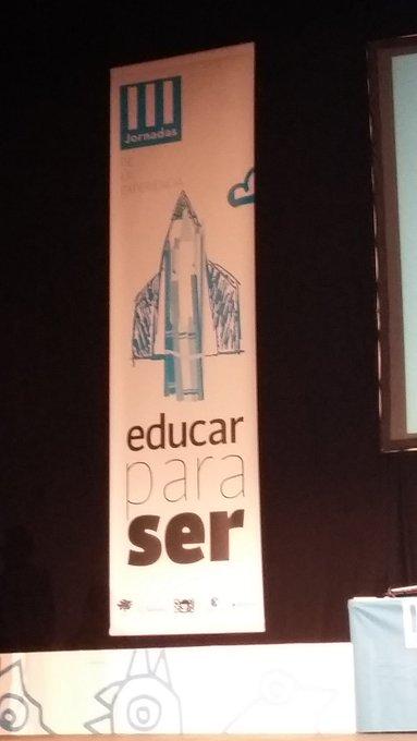 III JORNADAS EDUCAR PARA SER