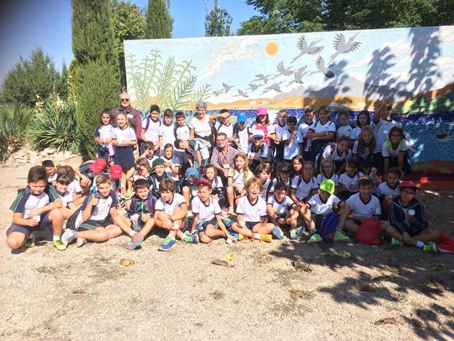4º Primaria descubriendo la Antigua Laguna de Villena