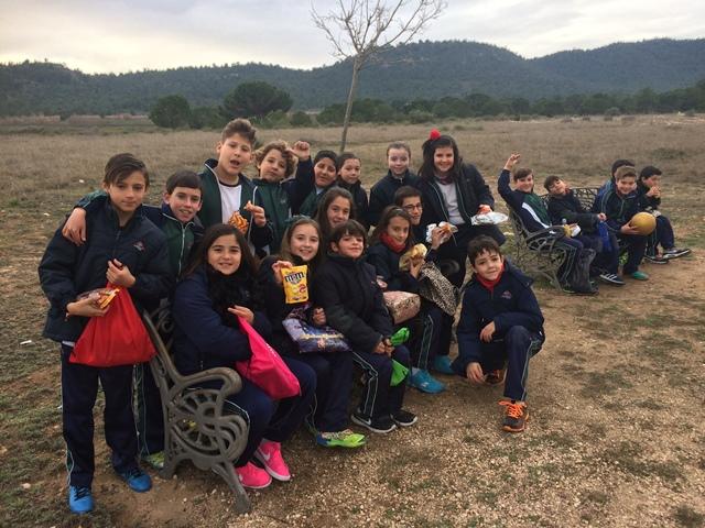 Los alumnos/as de 4º de Primaria en Primadomus.