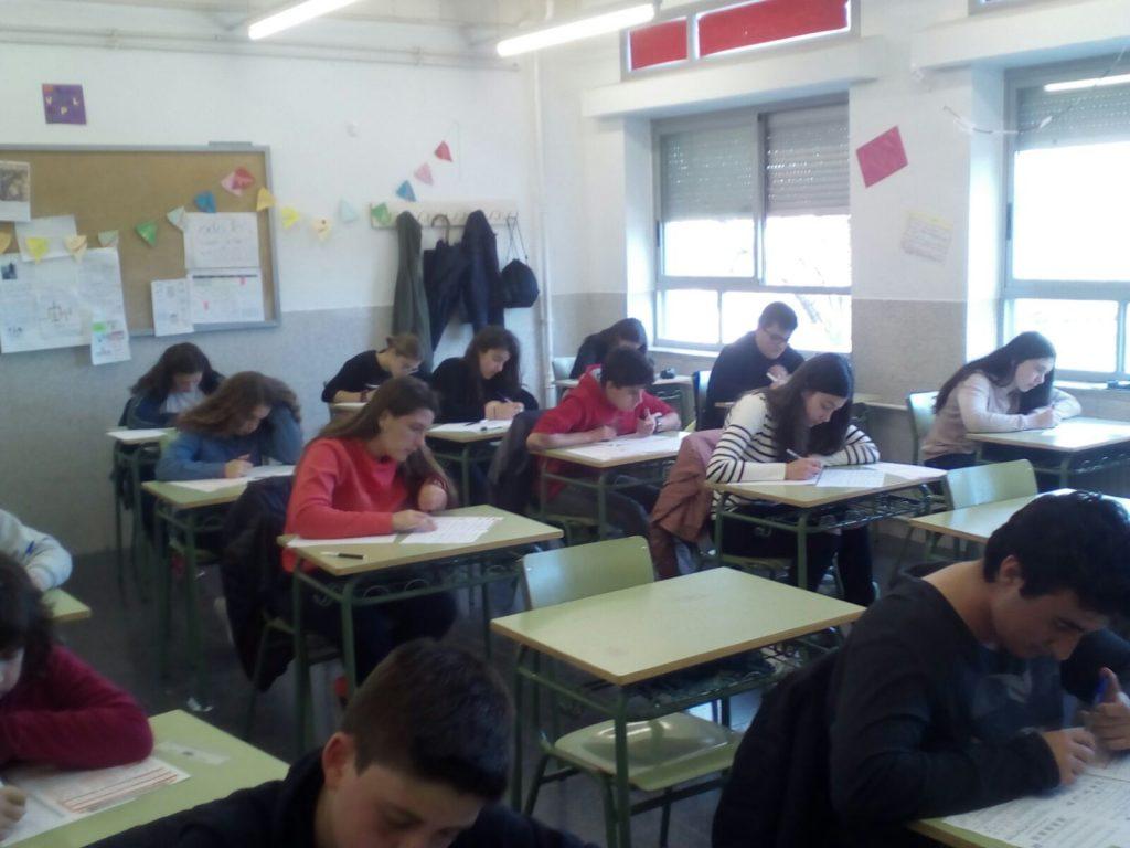 Alumnos de ESO participan en el Canguro Matemático