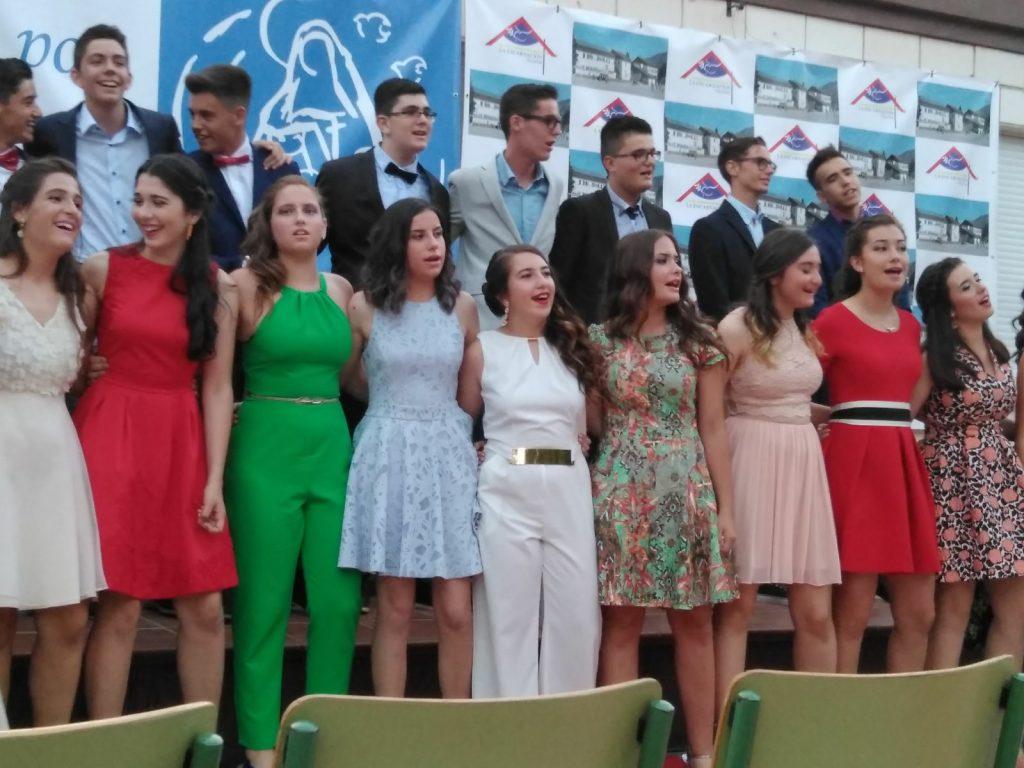 Graduación de nuestros alumnos de 4º ESO