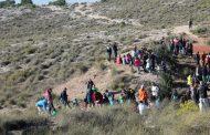 300 personas del colegio La Encarnación en la Minica de los Colores