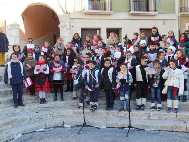 2º Premio en el concurso de Villancicos Interescolar 2017