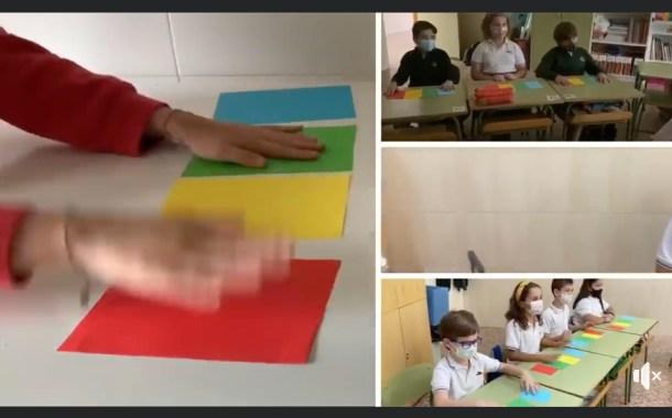 Nuestros alumnos y alumnas de 4º de Primaria aprenden jugando con ECOS RÍTMICOS