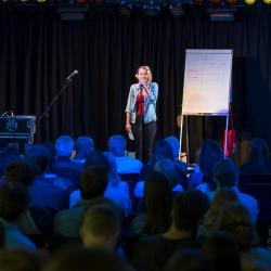 Ines Strohmaier beim Jam on Poetry