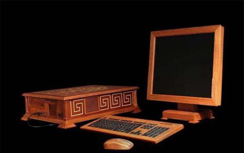 ordenadores ecológicos de madera