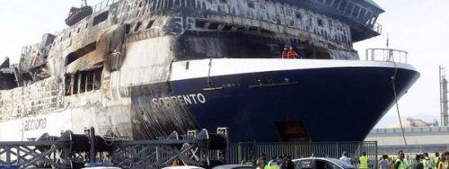 El ferry Sorrento fue remolcado hasta Sagunto