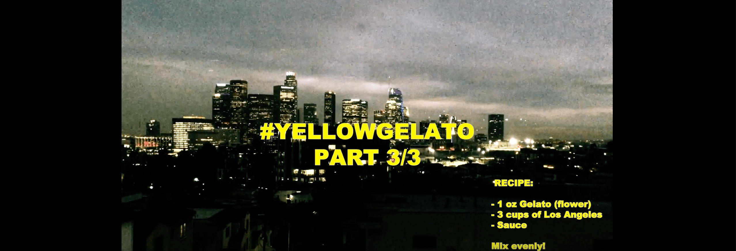 Yellowgelato Part 3 Hot Tonite In The City