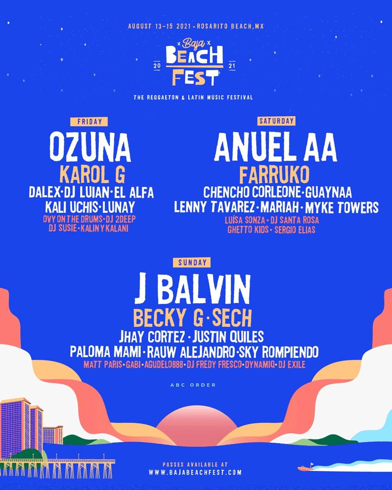 Baja Beach Fest 2021