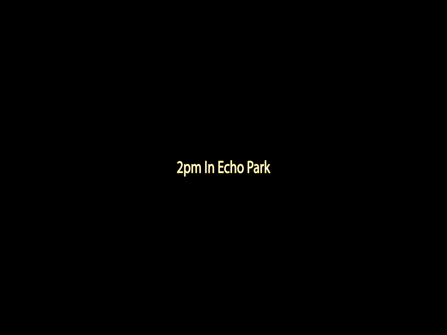 2pm In Echo Park Single Cover Marq Robinson