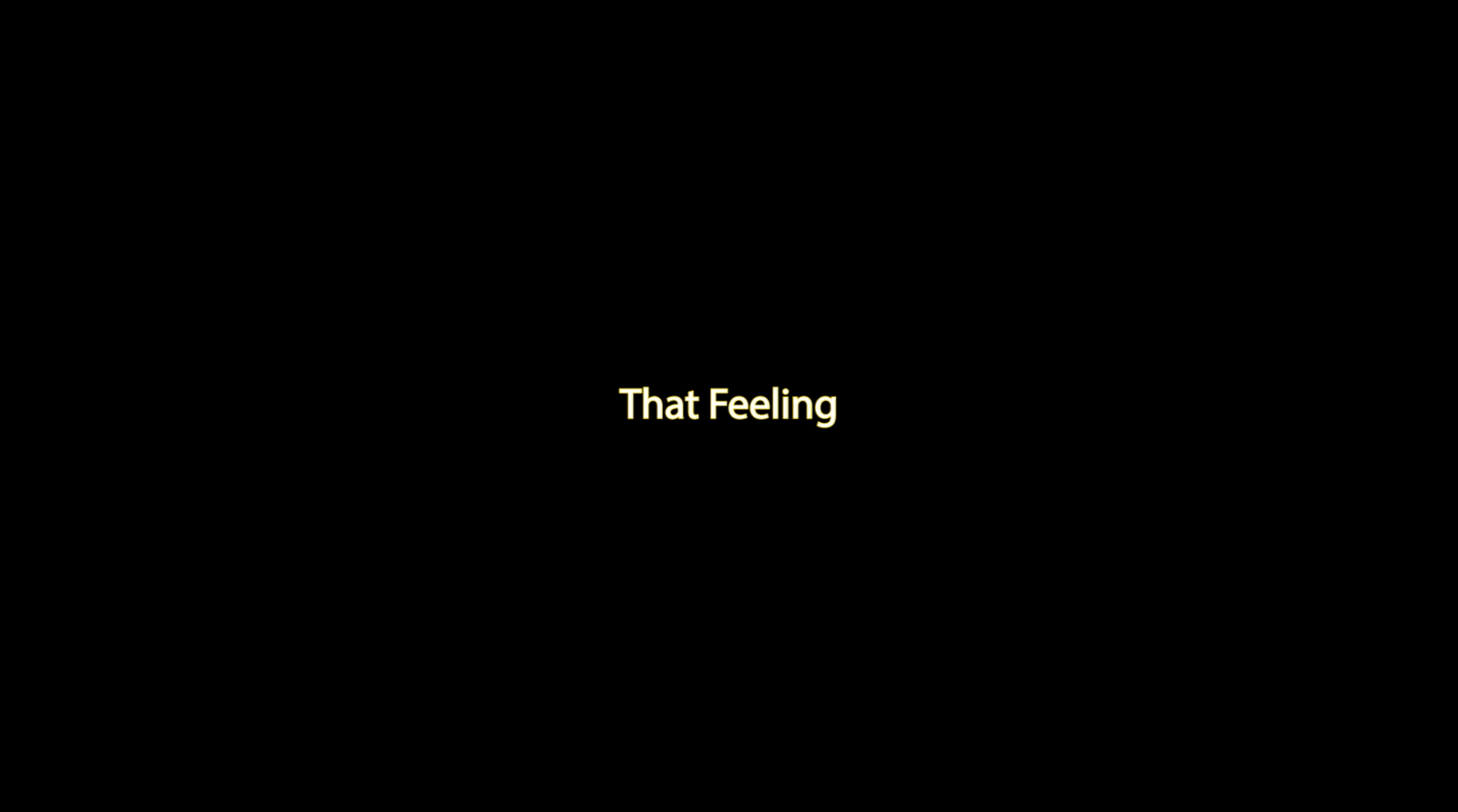 That Feeling - Marq Robinson Single